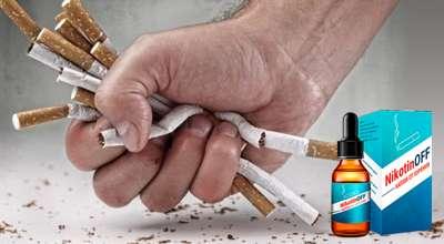 Капли Nikotinoff от курения.